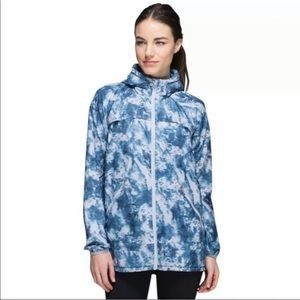 Lululemon Miss Misty Full Zip Jacket Blue Sz 10